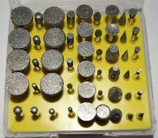 50 PC Set Diamant & Points 120 Grit Fräser, jewellrey, Dremel etc.