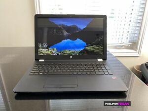 Refurbished HP Pavilion 15-bw0xx AMD A10 8GB 1TB Laptop Black