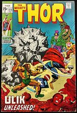 MIGHTY THOR #173 VERY SHARP VF ULIK KING OF THE TROLLS+ RINGMASTER 1970