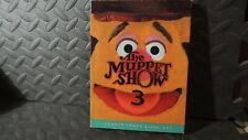 MUPPET SHOW SEASON 3 BOX SET 4 DISCS GUEST ALICE COOPER ROY CLARK ROY ROGERS +++