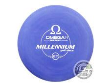 New Millennium Et Omega Big Bead 168g Purple White Stamp Putter Golf Disc