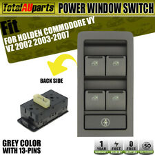 Power Master Main Window Switch for Holden Commodore VY VZ 2002-2007 Grey Color