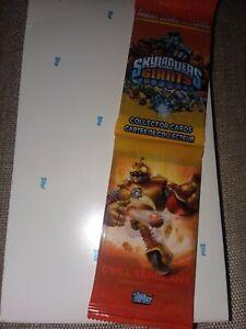 Skylanders Giants Topps cards jumbo pack 2013 18 lot blister box unopened new