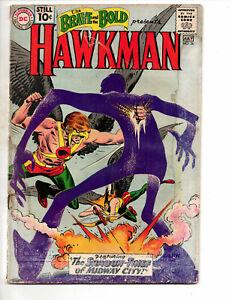 Brave and the Bold #36 (1961 DC Comics) - 3rd SA Hawkman; more. Lower Grade
