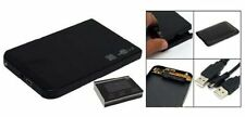 "2.5"" Inch Sata USB 2.0 Hard Drive HDD Enclosure External Laptop Disk - Black New"