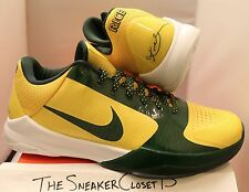 New DS Nike Zoom Kobe V 5 Rice green yellow HS 6 7 8 9 Sz 11.5