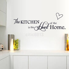 English Letters Wall Stickers Decals Home Decor Wall Poster for kitchen PVC US