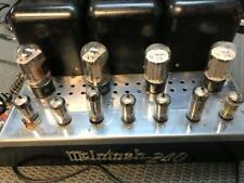 Vintage McIntosh model MC-240 MC240 Stereo HiFi Tube Amplifier - Functions