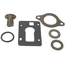 new Marine OMC 160 Degree Thermostat Kit Replace Sierra 18-3653