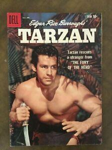 Dell Tarzan #110 Scarce Last Photo Cover VF/NM 9.0 Edgar Rice Burroughs