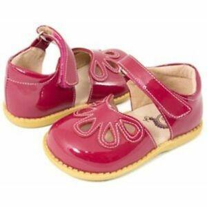 NIB LIVIE & LUCA Petal Shoes  Petals Red Watermelon 4 toddler