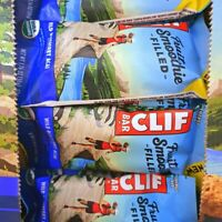 80 CLIF ENERGY BAR  WILD BLUEBERRY ACAI  FRUIT SMOOTHIE FILLED JUN15/2019 NEW