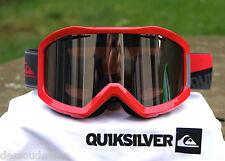 QUIKSILVER masque de ski homme FENOM UV3  écran silver mirror Neuf