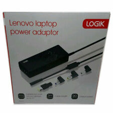 LOGIK LENOVO LPLENO17 Laptop Power Adapter 90W with 3 Laptop Connectors 3 Mtr