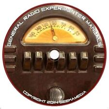 479 General Radio Experimenter Books Manuals Wireless Radio Ham Crystal on disc