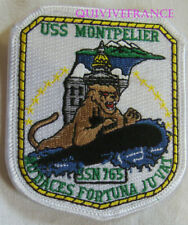PUS272 - US NAVY USS MONTPELLIER SSN 765 PATCH SOUS-MARIN NUCLEAIRE