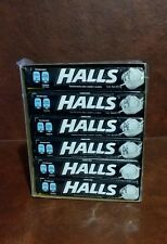 HALLS Extra Strong Intense Cool Cough Drops, (Menthol, 9 Drops, 12-Pack)