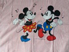 parure drap DISNEY mickey minnie vintage