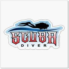 (Pack of 3) SCUBA DIVER Cool Font Scuba Diver Sticker / Decal 200-147