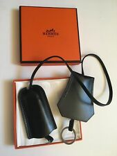 HERMES Leather Key Holder-Coffret-Made in France-Comme neuf Vintage Rare Leatherma