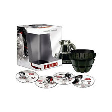 Rambo Collection - The Grenade Limited Edition NEW Blu-Ray 4-Disc Boxset
