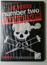 JACKASS NUMBER TWO (Unrated) DVD, Jess Margera, Ehren McGhehey, Dave England