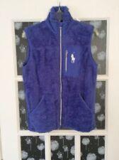 Polo Golf Ralph Lauren, Medium, Purple, Plush, Zipper, Vest