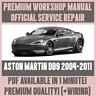 *WORKSHOP MANUAL SERVICE & REPAIR GUIDE for ASTON MARTIN DB9 2004-2011 +WIRING