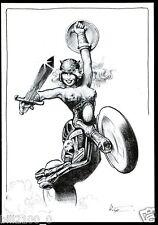 carte. Patrick Hitte .éditions Boudeuse Gang . Hello Dolly !  . moto .  2003