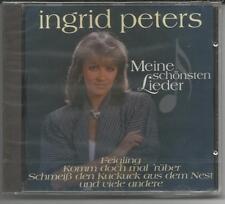 """INGRID PETERS - Meine schönsten Lieder - CD 1995 NEU/OVP """"Komm doch mal rüber"""""""