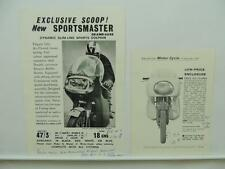 1963 Sportsmaster Grand-Luxe Slim-Line Brochure Weathermaster Dolphin L9194