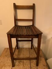 Children's Correction Chair / Deportment Chair / High Chair / Antique / High