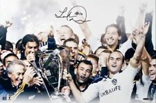 Landon Donovan Hand Signed Autographed 16x24 Galaxy 2011 MLS Cup Champs # 10 UDA