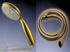 Set Design Duschkopf und Duschschlauch | Handbrause | Gold Sonderedition