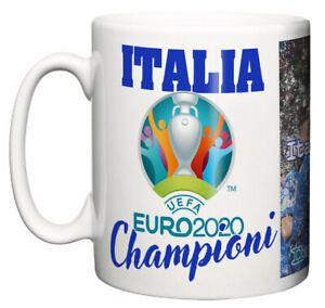 Italia Football Team Uefa Cup Euro 2020 Winners Championi Commemorative Mug