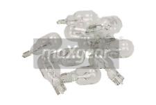 10 X Piezas W16W Maxgear 78-0159SET Bombilla Lámparas 12V Luz de Freno