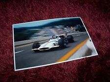 Photo / Photograph  Pedro Rodriguez BRM P153 Spa Francorchamps 1970 //
