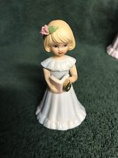 Enesco - Growing Up Birthday Girls - Age 6 - Blonde - Euc
