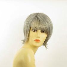 Perruque femme grise cheveux lisses ref  VALERIA 51