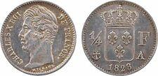 1/4 franc, Charles X, 1828 Paris, SUP - 65