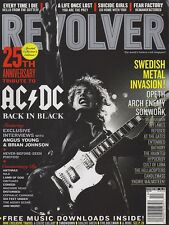 OCT 2005 REVOLVER rock and roll music magazine AC/DC - BACK IN BLACK