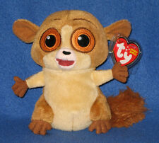 Ty Mort the Lemur Beanie Baby (Madagascar Movie) - Mint with Mint Tags