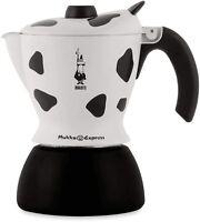 BIALETTI MUKKA EXPRESS CAFFETTIERA CAPPUCCINO 2 TAZZE + OMAGGIO CAFFE' 250gr