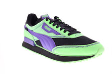 Puma Future Rider Future Mutants Mens Green Synthetic Lifestyle Sneakers Shoes