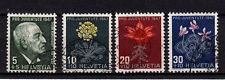 Schweiz Pro Juventute 1947, Michel-Nr.488 -491 gestempelt,einwandfrei siehe Bild