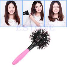360° Hair Brush 3D Ball Style Blow Drying Detangling Salon Heat Resistant Comb