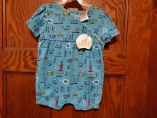 New Simply Basic Girls Baby Infant Clothing Romper Gardening Size 6/9 Months