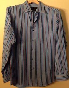 Gene Meyer 16 1/2 34/35 Long Sleeve Dress Shirt