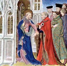 LA MINIATURE AU MOYEN-ÂGE Enluminures L'Illustration Grandes Heures Duc de Berry