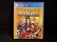 Nobunaga's Ambition: Sphere of Influence  (PS4/PlayStation 4) BRAND NEW